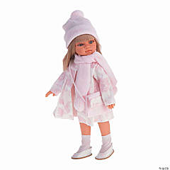 Emily Girl Doll In White Coat