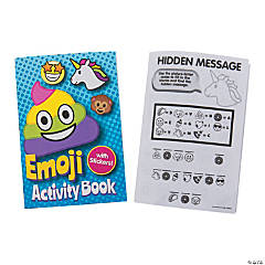 Emoji Activity Books with Stickers