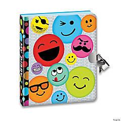 Emoji Black Page Diary
