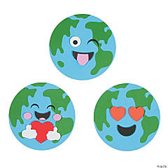 Emoji Earth Day Magnet Craft Kit