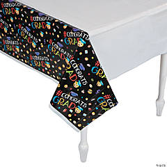 Emoji Graduation Party Tablecloth