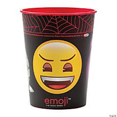 Emoji Halloween Plastic Tumbler