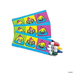 Emoji Poop Crayons