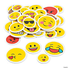 Emoji Self-Adhesive Shapes