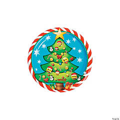 Emoji<sup>&#8482;</sup> Christmas Dessert Plates