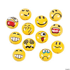 Emoticon Polymer Beads