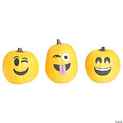 Emoticon Pumpkin Decorating Craft Kit