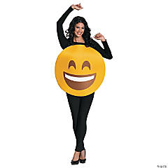 Emoticon Smile Costume for Adults