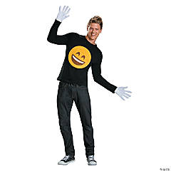 Emoticon Smile Costume Kit for Adults