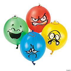 Emotional Punch Ball Balloon Assortment