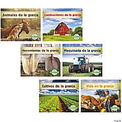 En la granja (On the Farm), Spanish Book Set, Set of 6