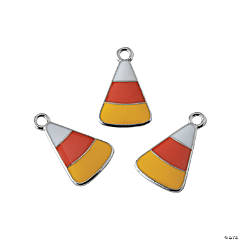 Enamel Candy Corn Charms