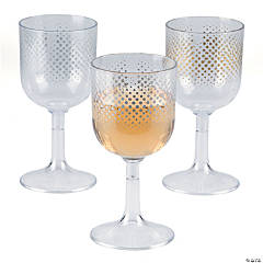 Enchanted Christmas Wine Glasses