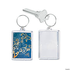 Enchantment Theme Picture Frame Key Chains