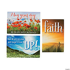 Encouragement Postcards with Verse