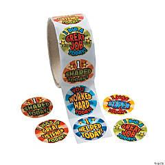 End of Day Reward Sticker Rolls