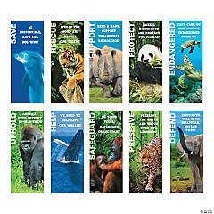 Endangered Animals Poster Set