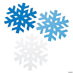 Enormous Snowflake Shapes