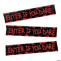Enter if You Dare Plastic Streamer