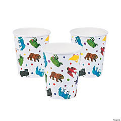 Eric Carle Brown Bear, Brown Bear, What Do You See? Paper Cups