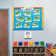 Eric Carle™ Job Chart & Center Signs
