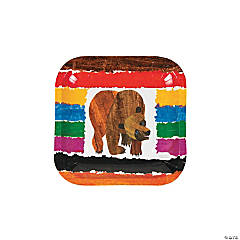 Eric Carle's Brown Bear, Brown Bear, What Do You See? Paper Dessert Plates