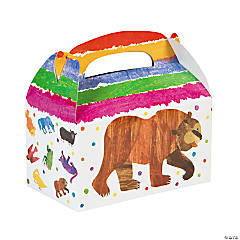 Eric Carle's Brown Bear, Brown Bear, What Do You See? Favor Boxes