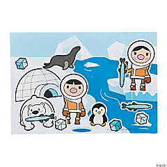 Eskimo Sticker Scenes