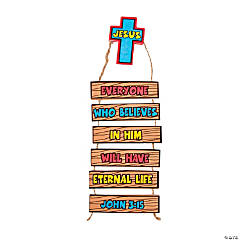 Eternal Life Door Hanger Decoration Craft Kit