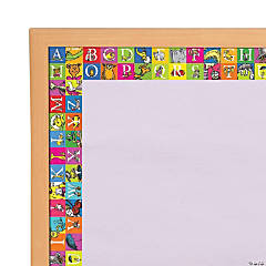 Eureka® Dr. Seuss™ ABC Wide Bulletin Board Borders