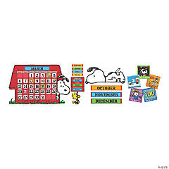 Eureka® Peanuts® Calendar Bulletin Board Set