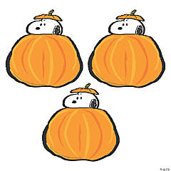 Eureka® Peanuts® Fall Pumpkins Bulletin Board Cutouts