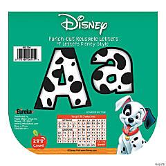 Eureka<sup>&#174;</sup> 101 Dalmatians<sup>&#174;</sup> Spots Bulletin Board Letters
