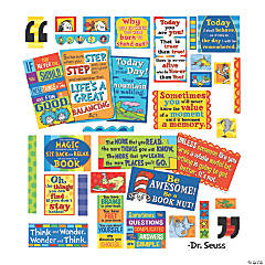 Eureka<sup>&#174;</sup> Dr. Seuss<sup>&#8482;</sup> 35 Quotes Bulletin Board Set