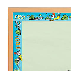 Eureka<sup>&#174;</sup> Dr. Seuss<sup>&#8482;</sup> Green Eggs and Ham Bulletin Board Borders