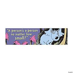 Eureka<sup>&#174;</sup> Dr. Seuss<sup>&#8482;</sup> Horton Hears a Who Horizontal Banner