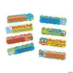 Eureka<sup>&#174; </sup>Dr. Seuss<sup>&#8482;</sup> Reading Tips Mini Bulletin Board Set