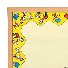 Eureka<sup>&#174;</sup> Dr. Seuss<sup>&#8482;</sup> The Cat in the Hat<sup>&#8482;</sup> Yellow Bulletin Board Borders