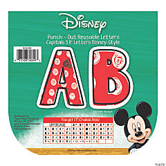 Eureka<sup>&#174;</sup> Mickey<sup>&#174;</sup> Color Pop Bulletin Board Letters