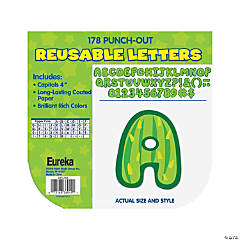 Eureka<sup>&#174; </sup>Sharp Bunch Cactus Bulletin Board Letters