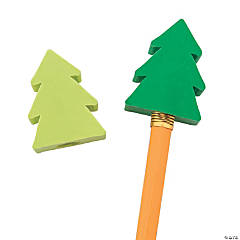 Evergreen Pencil Toppers