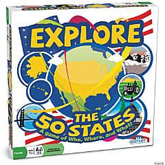 Explore the 50 States Trivia Game