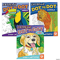 Extreme Dot to Dot: Animal Favorites Set of 3