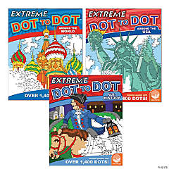 Extreme Dot to Dot: People & Places Set of 3
