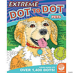 extreme dot to dot pets - Mindware Coloring Books