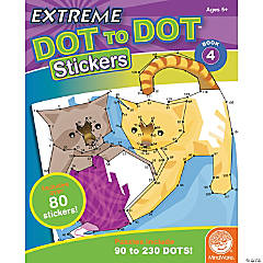 Extreme Dot to Dot Stickers: Book 4