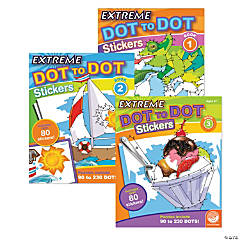 Extreme Dot to Dot Stickers: Set of 3