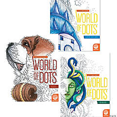 Extreme Dot to Dot World of Dots: Set of 3