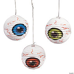Eyeball Hanging Paper Lanterns