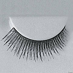Eyelashes Black with Adhesive 1